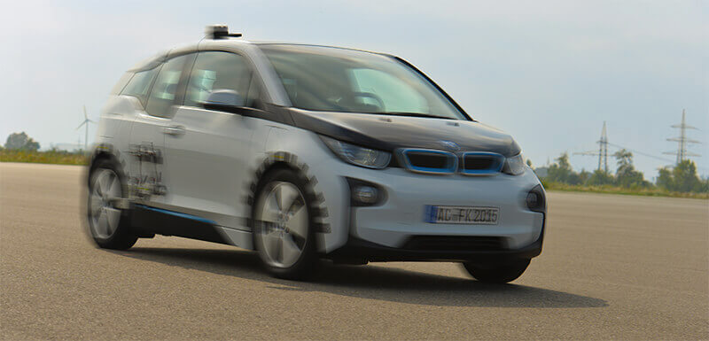 [Photo: BMW i3 Driving Experience]