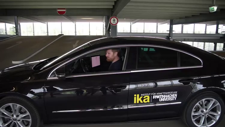 [Video: Automated valet parking]
