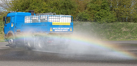 [Photo: Spray Truck]