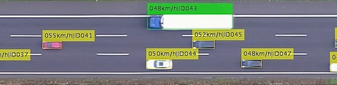The Highway Drone Dataset