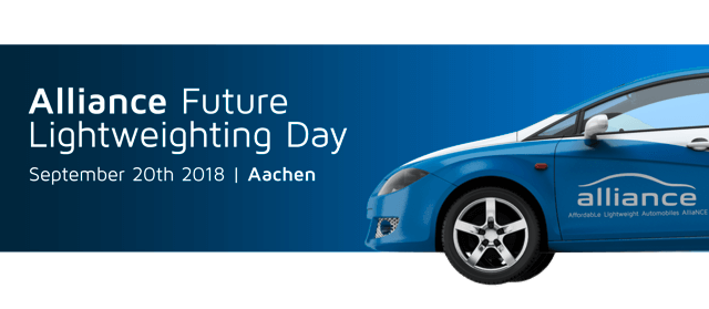 [Grafik: ALLIANCE Future Lightweighting Day 2018]