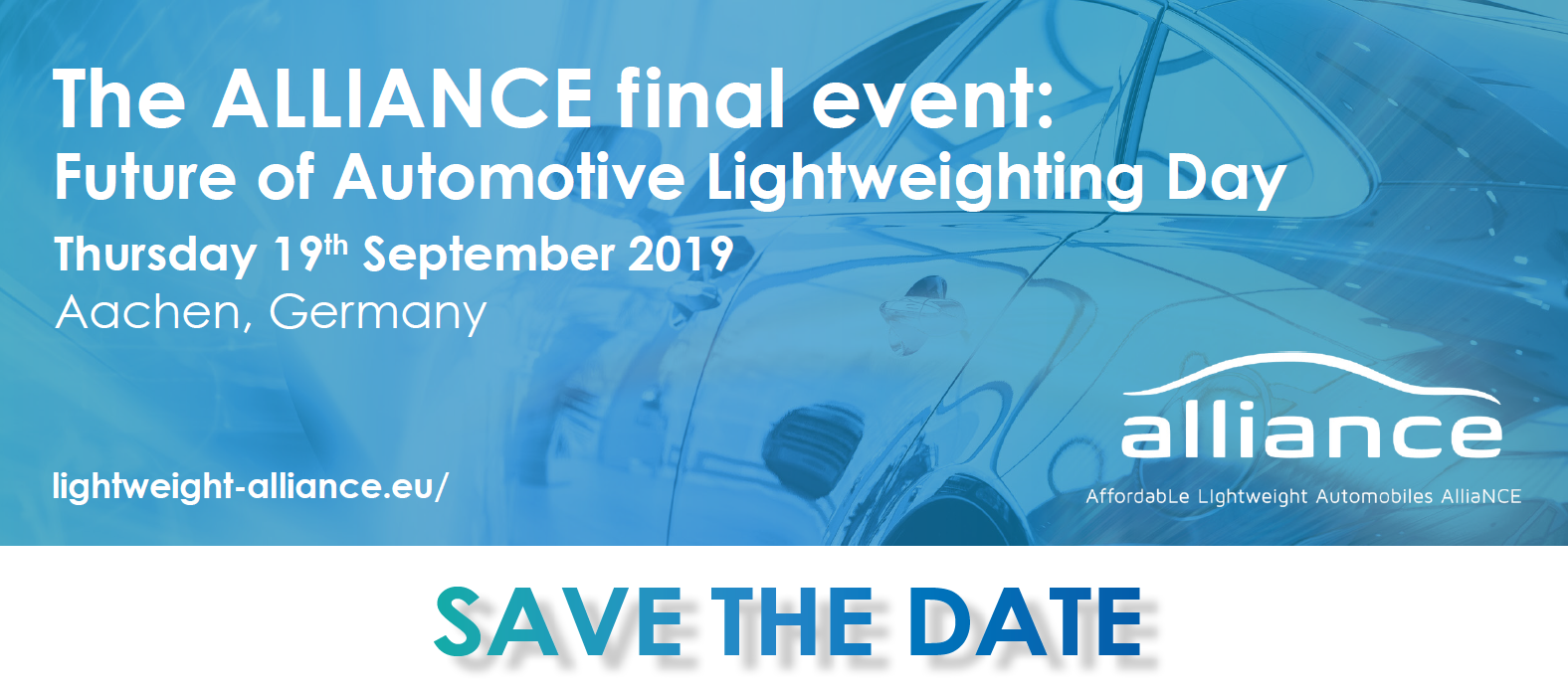 The ALLIANCE final event: Future of Automotive